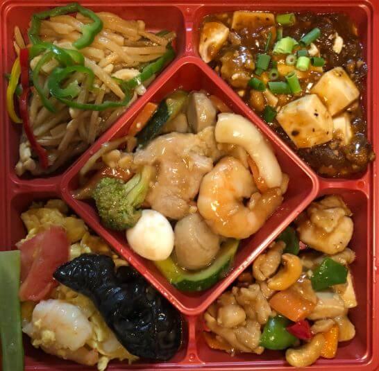 中華料理のお弁当