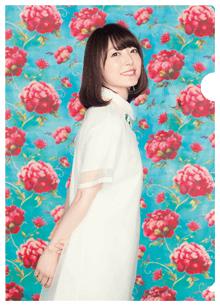 花澤香菜 VISAカードの入会特典(オリジナルクリアファイル)