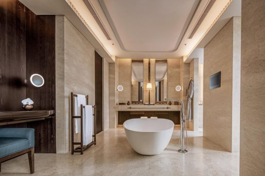 ウォルドーフ・アストリア・バンコクの浴室
