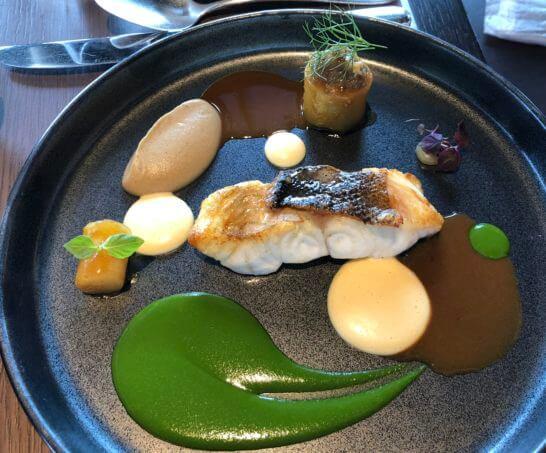 リッツカールトン東京のタワーズのランチの本日の鮮魚