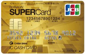 ちばぎんスーパーカード(ゴールドカード)