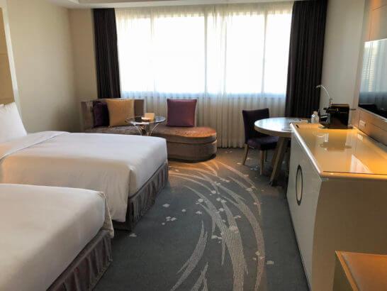 東京マリオットホテルのハイフロア・ツインルーム