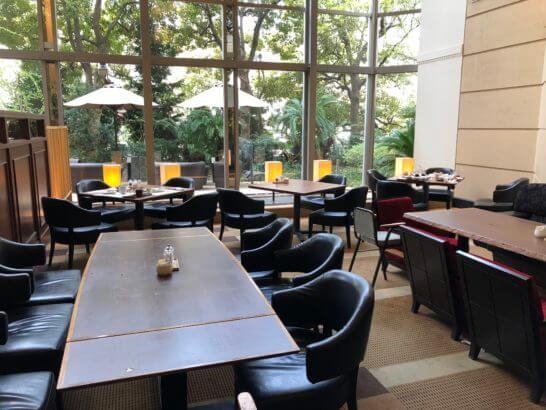 神戸ベイシェラトンホテルの朝食レストラン