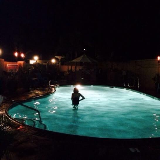 カリフォルニアのナイトプール