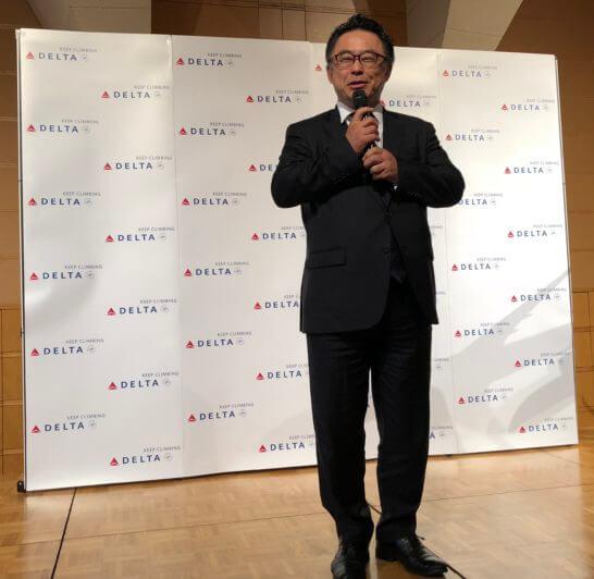 デルタ航空 日本支社長の森本大氏
