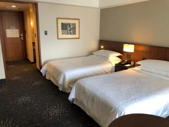 横浜ベイシェラトンホテルのクラブデラックスツイン
