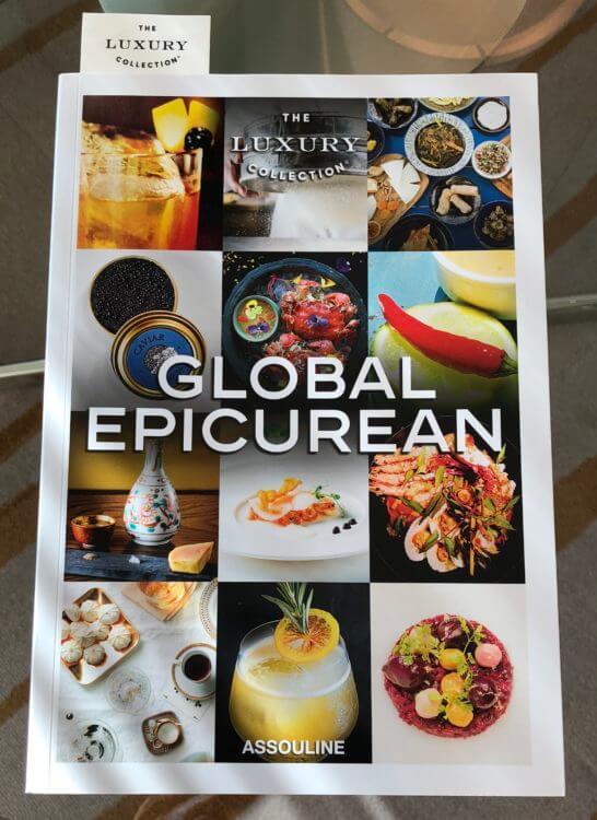 ラグジュアリーコレクションの冊子(GLOBAL EPICUREAN)