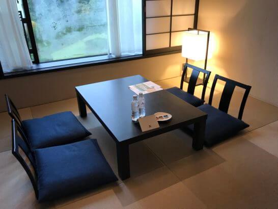 伊豆マリオットホテル修善寺の和洋室の和室