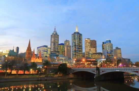 オーストラリアのメルボルン