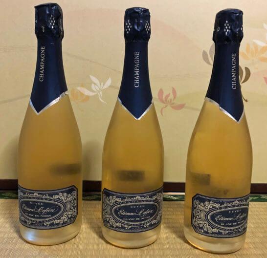 フィラディスで買ったシャンパン