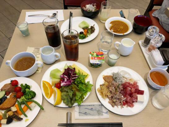 ヒルトン小田原の朝食