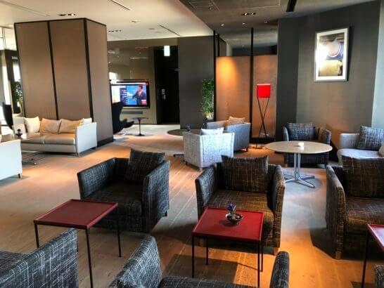 ANAインターコンチネンタルホテル東京のクラブラウンジ