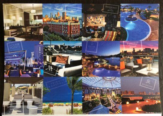 SPGとマリオットのホテルイメージ