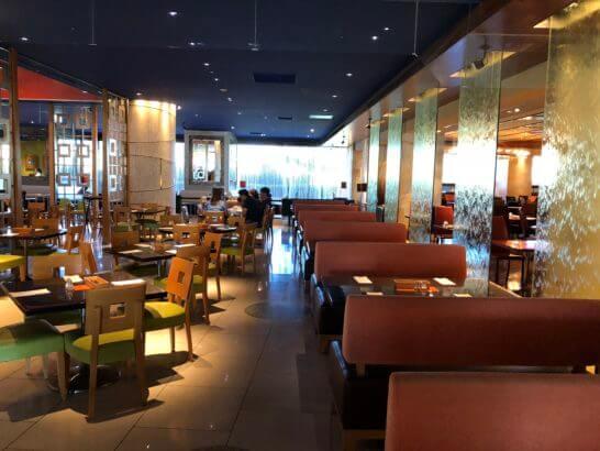ヒルトン東京ベイの朝食レストラン