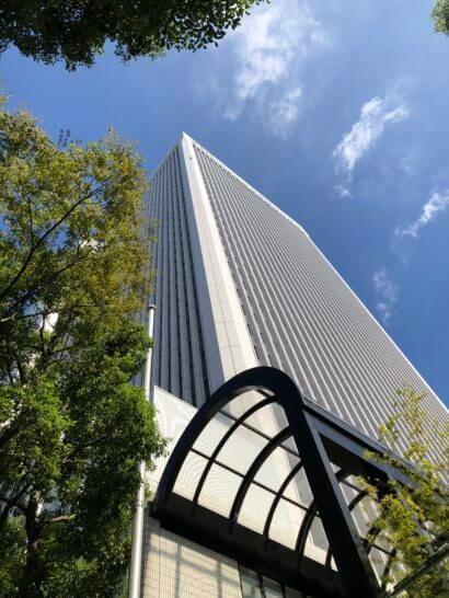 マネックス証券のオフィスがあるアーク森ビル