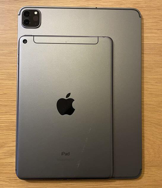 iPad Pro(2020)とiPad mini(2019)