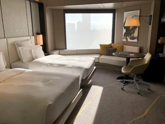 ANAインターコンチネンタルホテル東京のクラブインターコンチネンタルルーム ツイン