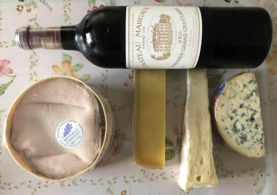 シャトー・マルゴー 2013とチーズ
