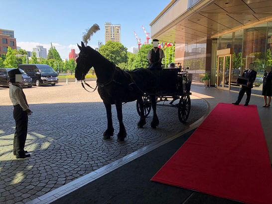 恵比寿のウェスティンホテル東京の馬