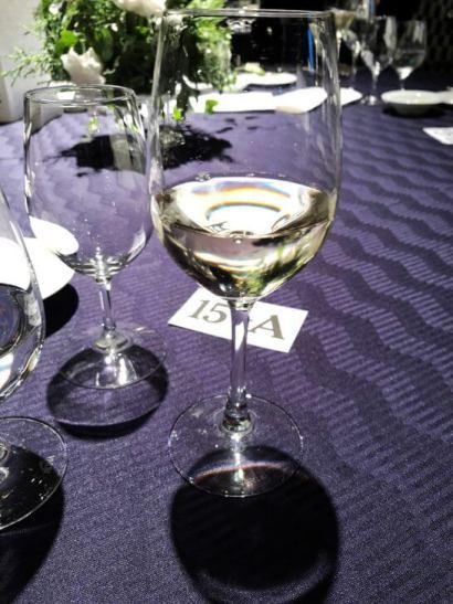 ダイナースクラブ フランスレストランウィークの白ワイン