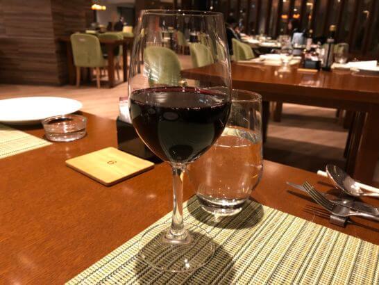 軽井沢マリオットの赤ワイン