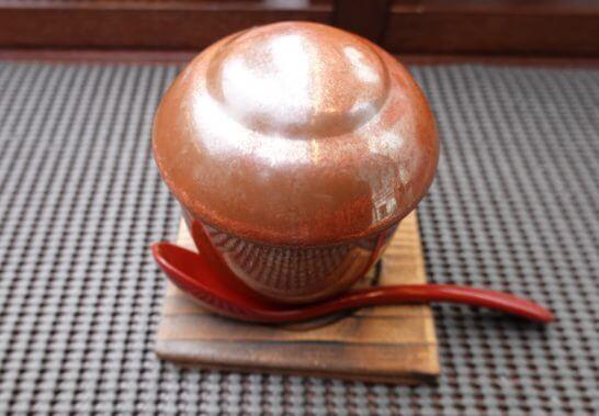 東京レストランバスの和モダンランチ(温物の器)