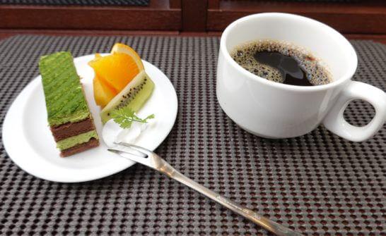 東京レストランバスの和モダンランチ(デザートとコーヒー)