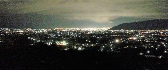 山梨の夜景