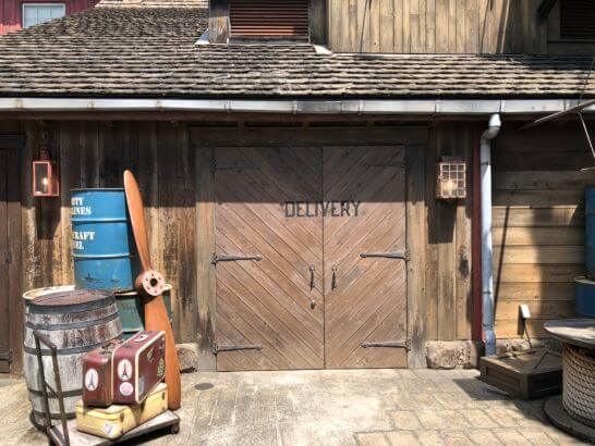 USJの三井住友カードラウンジの入り口