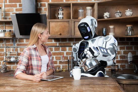 人工知能(AI)搭載ロボット