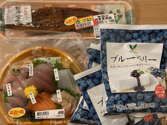 東武ストアの食品類