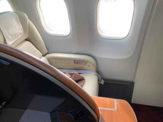 JALファーストクラスの座席