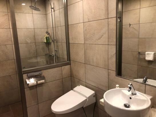 TIAT LOUNGEのシャワールーム
