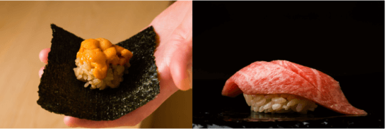 TABLEALLで予約できるお鮨屋の寿司