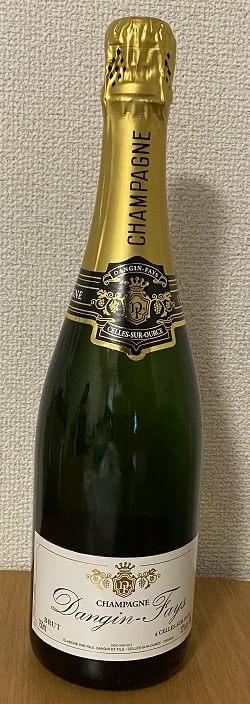 Amazonで購入したシャンパン
