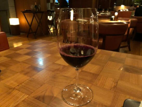 タヴァンの赤ワイン