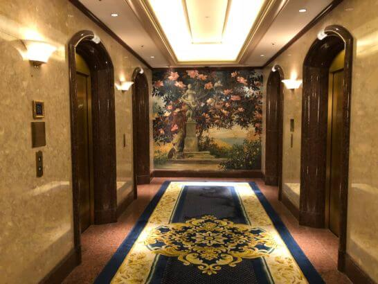 ウェスティンホテル東京のエレベーター (2)