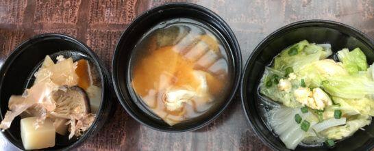 ウェスティンホテル東京のザ・テラスの朝食の和食・煮物