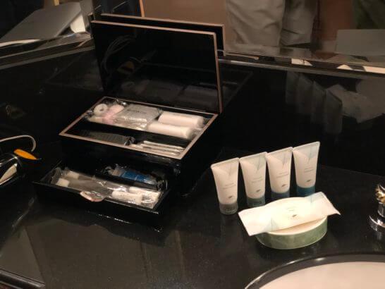 ウェスティンホテル東京のバスアメニティー