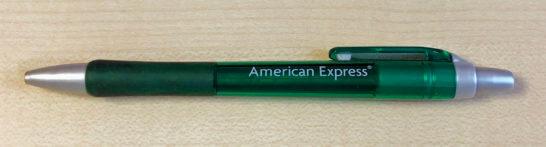 アメックスのシャープペン