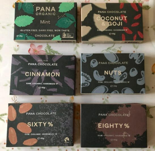 PANA CHOCOLATEのチョコレートバー