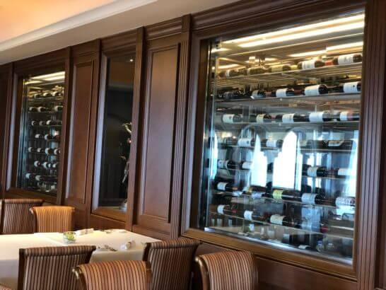 ウェスティンホテル東京のビクターズのワインセラー