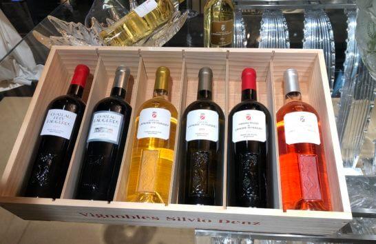 ラリック社のシャトーのワイン