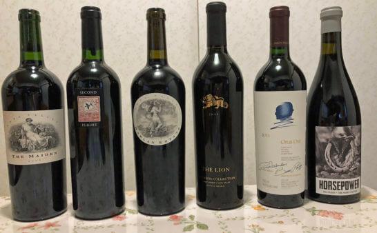 ナパバレーのカルトワイン(ハーラン・エステート、スクリーミング・イーグルセカンド・フライト等)