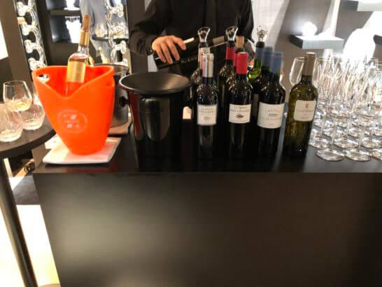 ラリックのワインカウンター