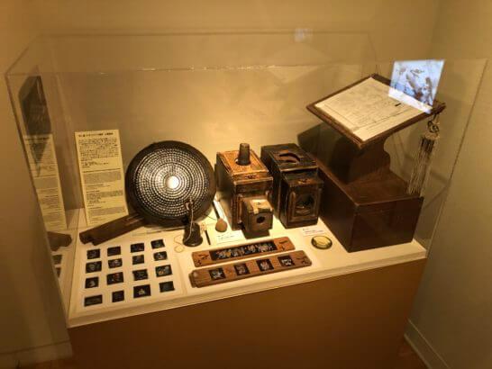 国立映画アーカイブ7F展示室の展示物