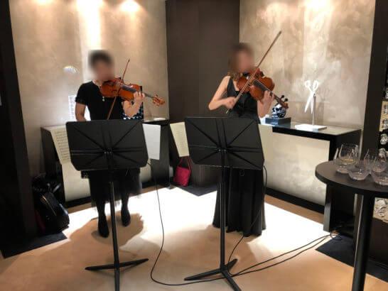 ヴァイオリン二重奏