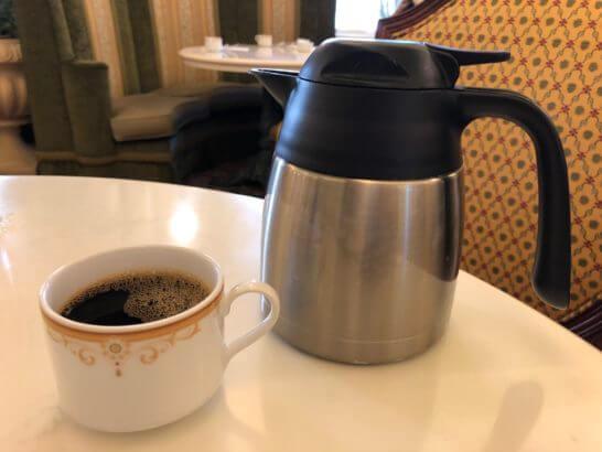 東京ディズニーランドホテルの朝食(コーヒー)