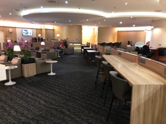 シンガポール・チャンギ国際空港のSATS Premier Lounge