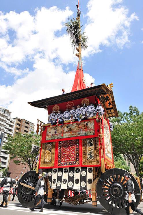 後祭(あとまつり)山鉾巡行・花笠巡行の観覧